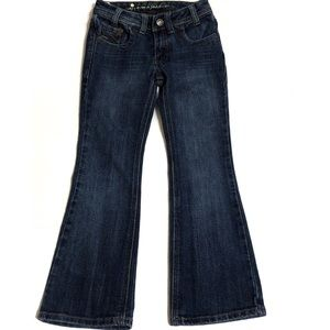 Girl's BootCut Jeans Size 7 Slim